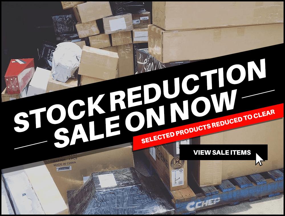 Stock Reduction Sale Promo