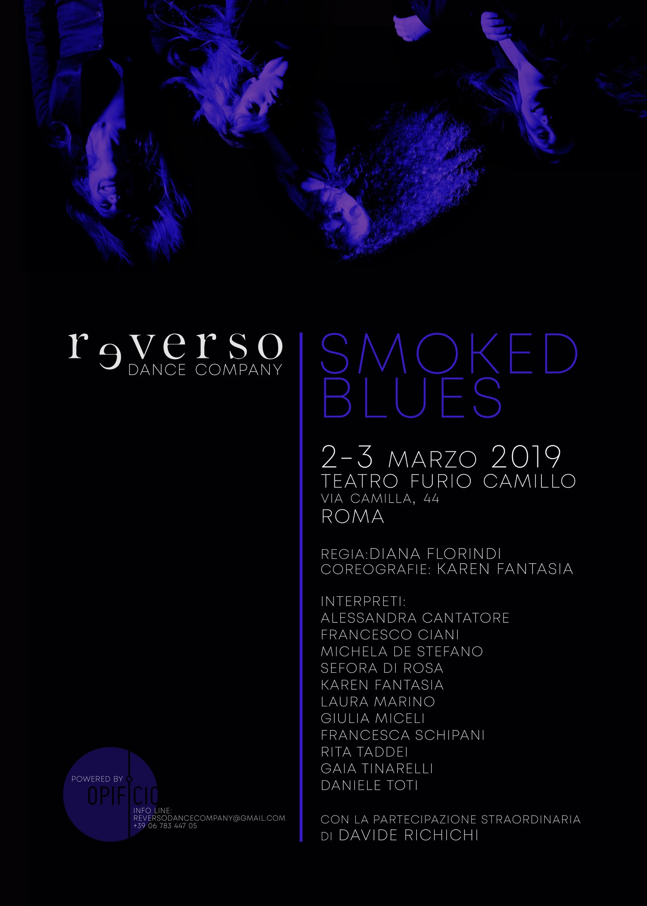 SMOKED BLUES - Chapter #2 / Reverso Dance Company