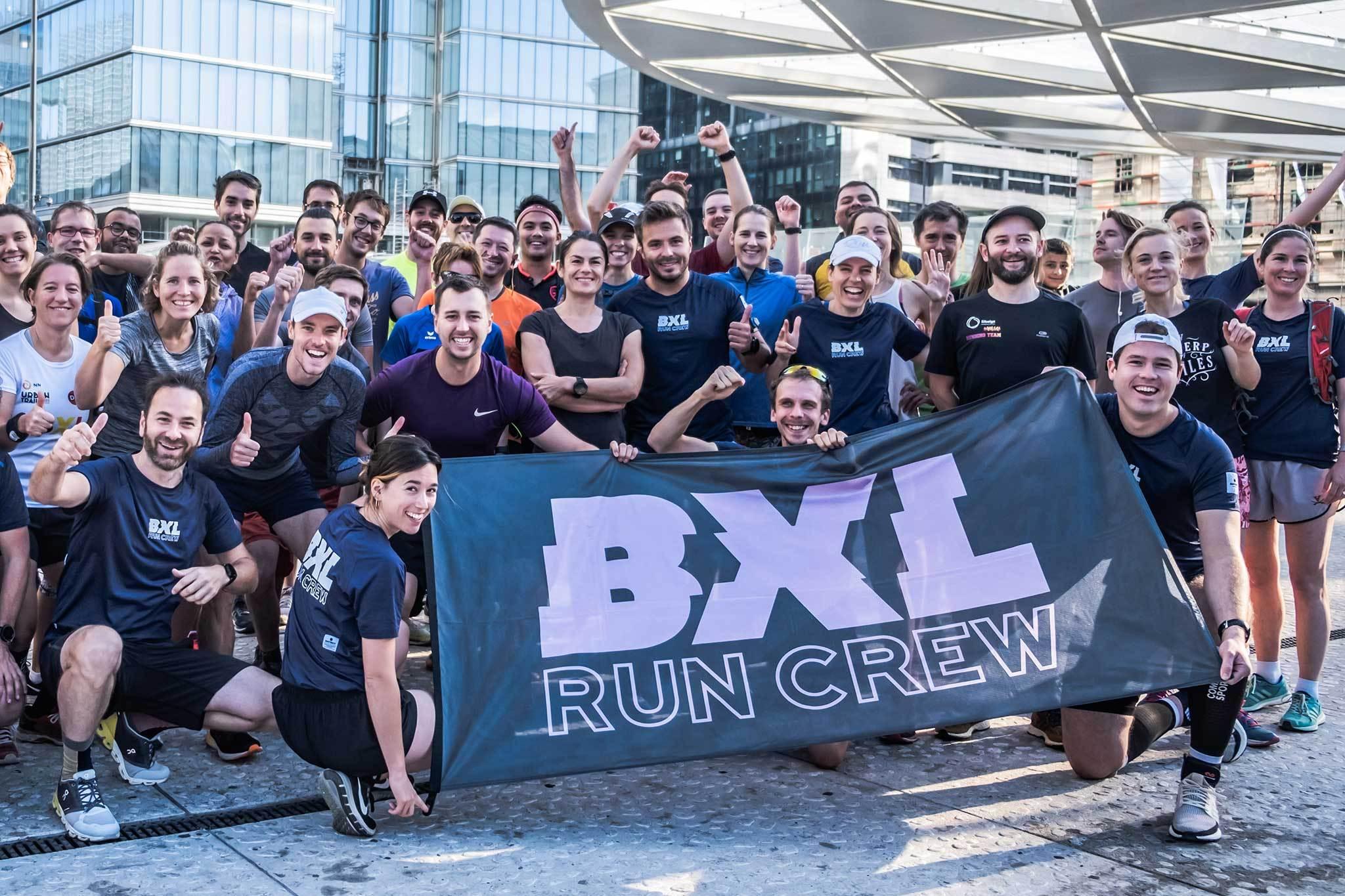 BXL RUN CREW: BRUSSELS