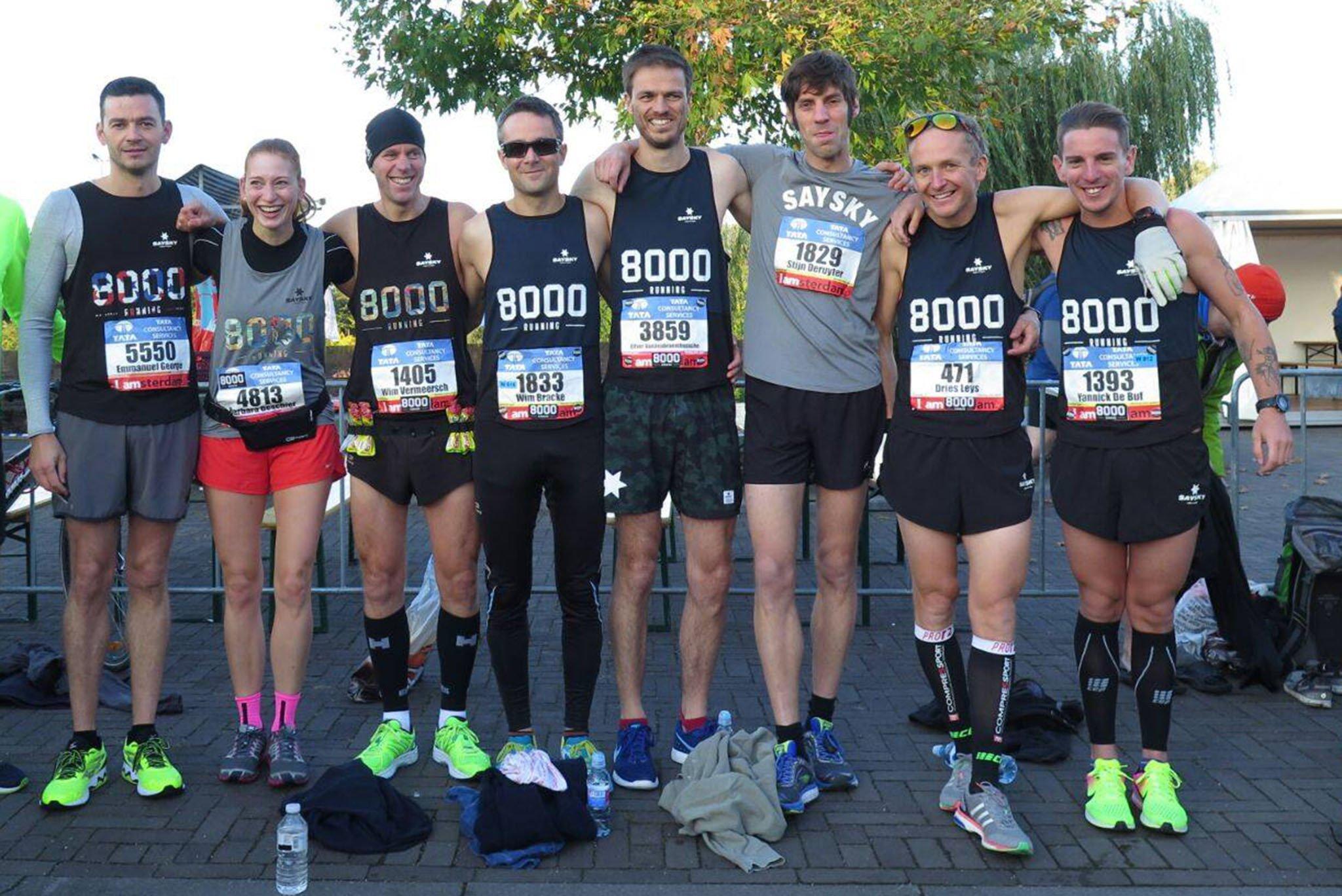8000 RUNNING: BRUGES