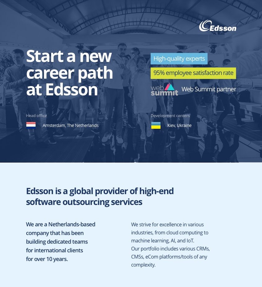 edsson, software, it experts