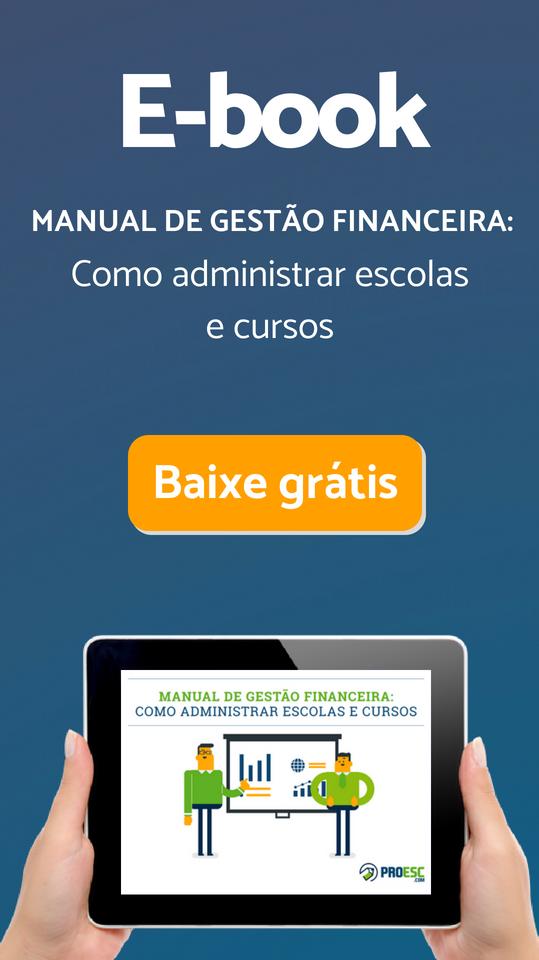 E-book: Manual completo de gestão financeira:Como administrar escolas e cursos