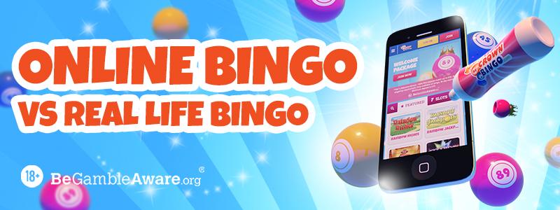 Online Bingo vs Real Life Bingo 2020