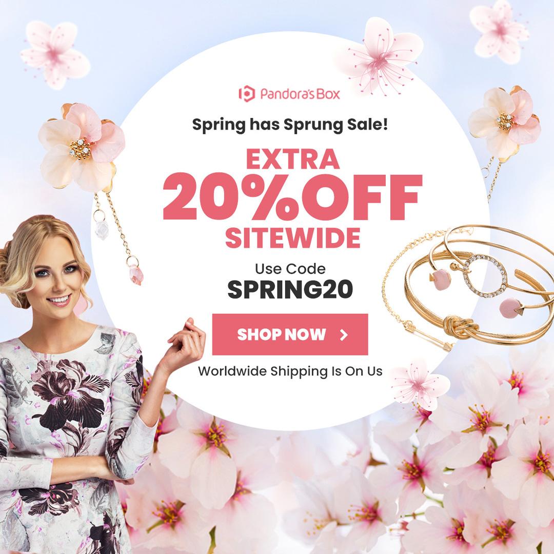 Spring Has Sprung Sale!