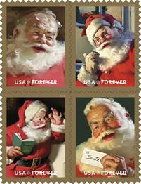 USPS Holiday Stamps 2018