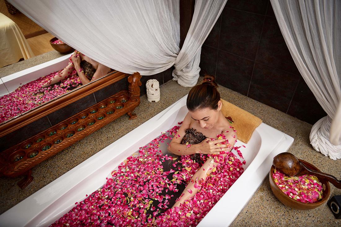 mandi bunga