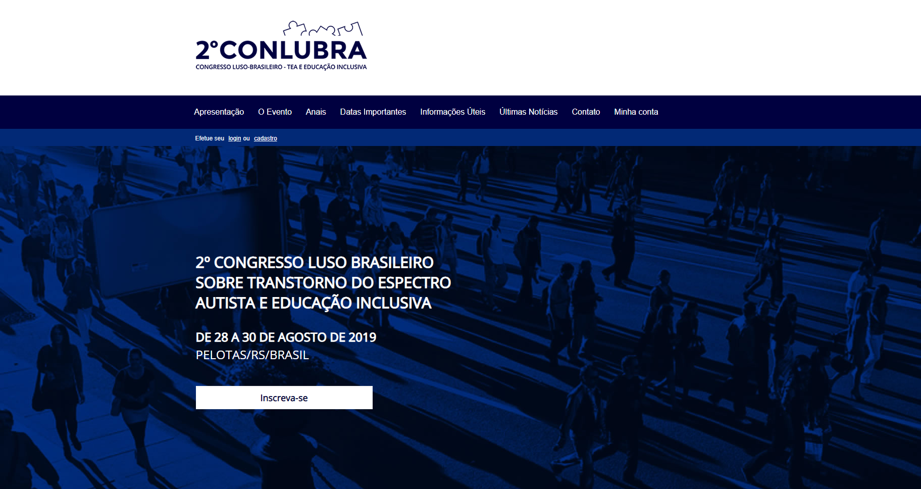Capa do website