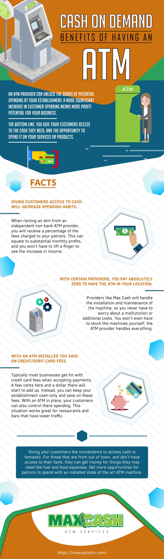 Cash On Demand - Benefits Of Having An ATM