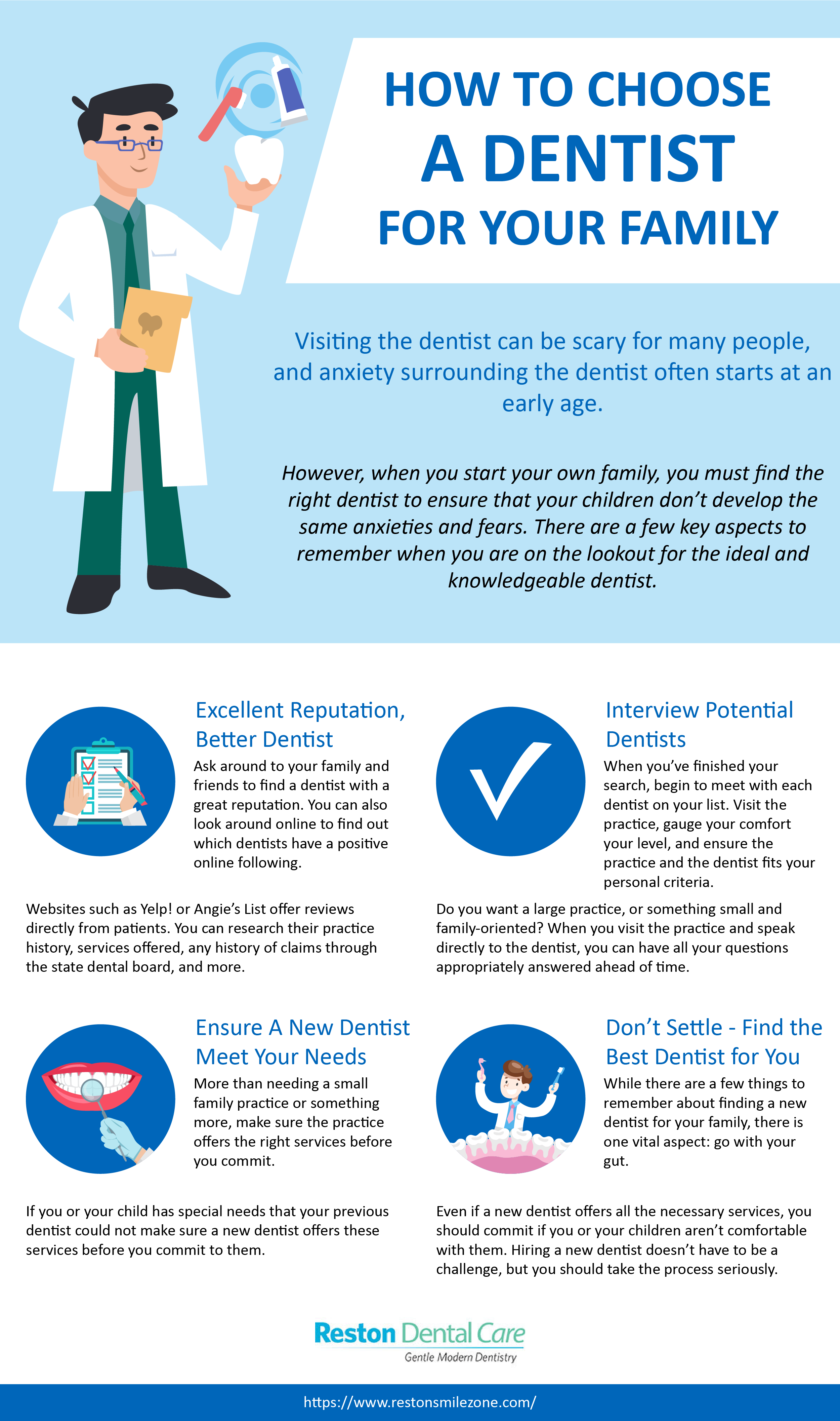 How to Choose a Dentist for Your Family