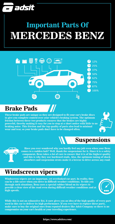Important Parts of Mercedes Benz