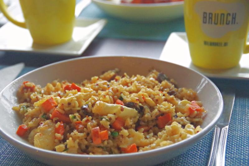 Quinoa Fried Rice Brunch Fall Menu 2019