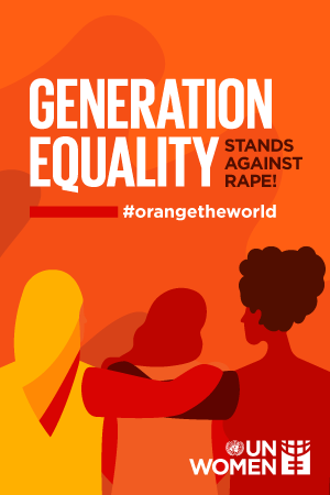 Generation Equality Stands against Rape