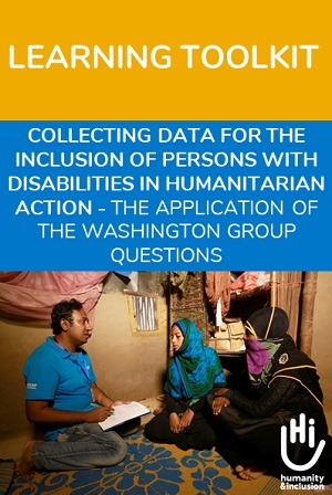Disabilities in humanitarian action - Learning toolkit