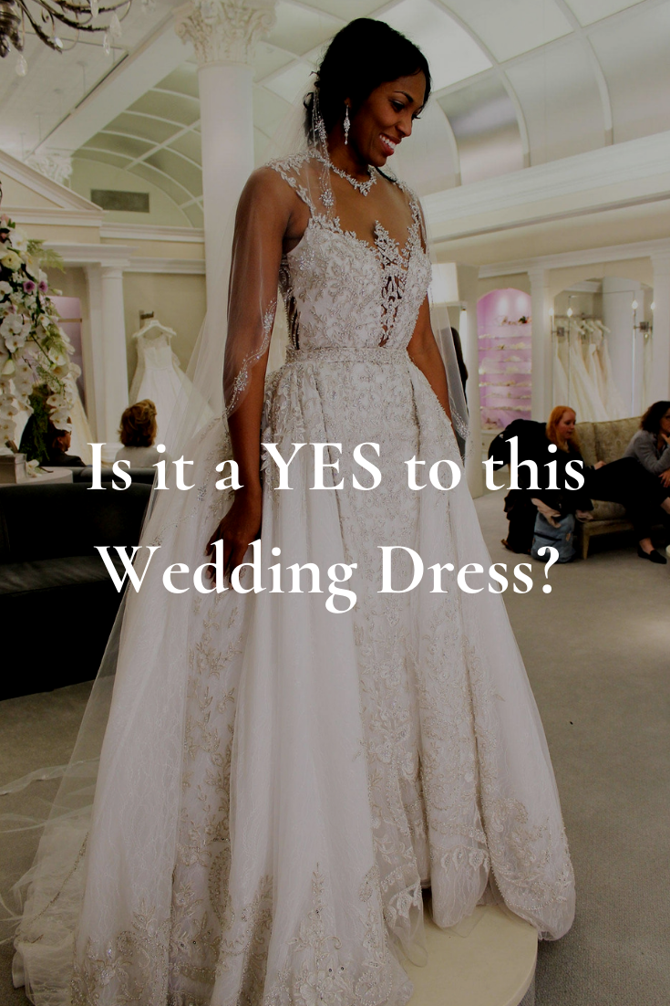 Is it a YES for this Dress? - DIY Bride Fashion 2019 Wedding Dress Shopping