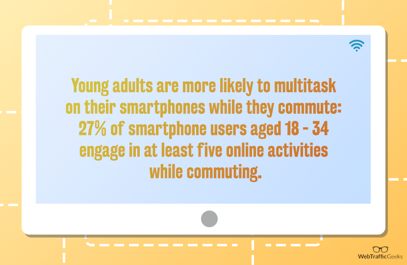 Young adults smartphone use Quote Element