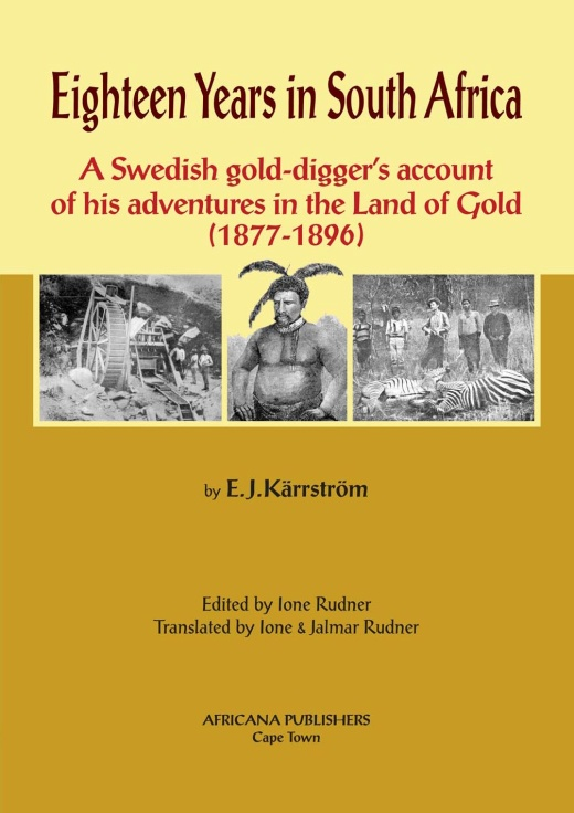 Book cover for Eighteen years in South Africa by E.J. Kärrström published by Africana Publishers