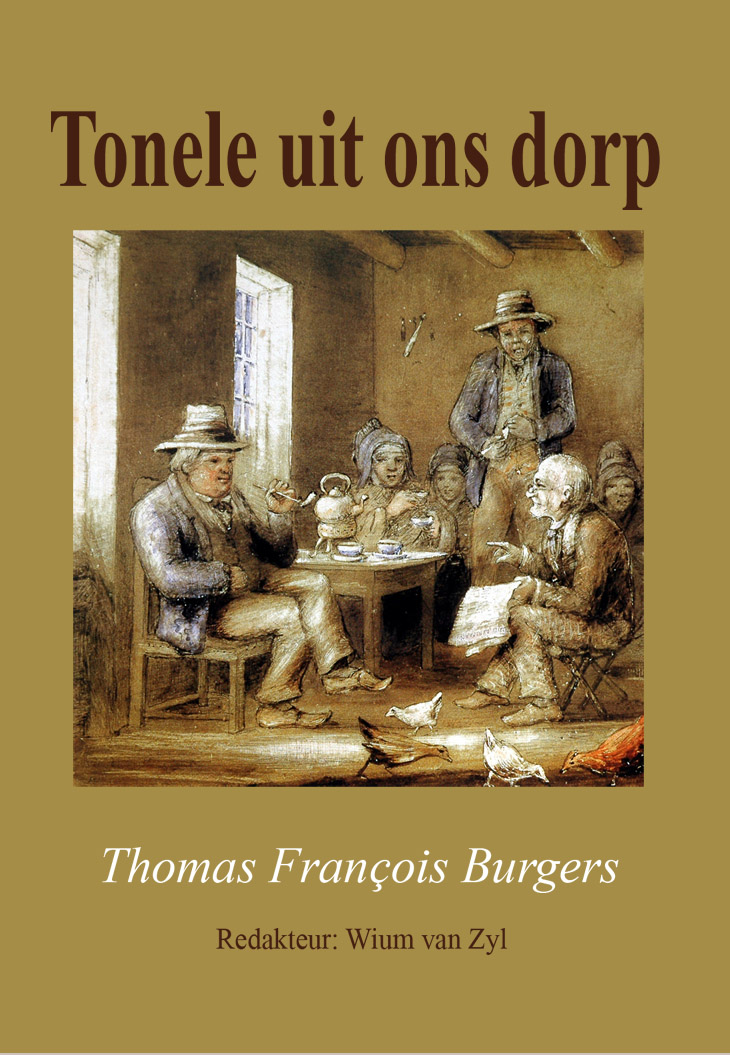 Book cover for Tonele uit ons dorp by Thomas Francois Burgers published by Africana Publishers