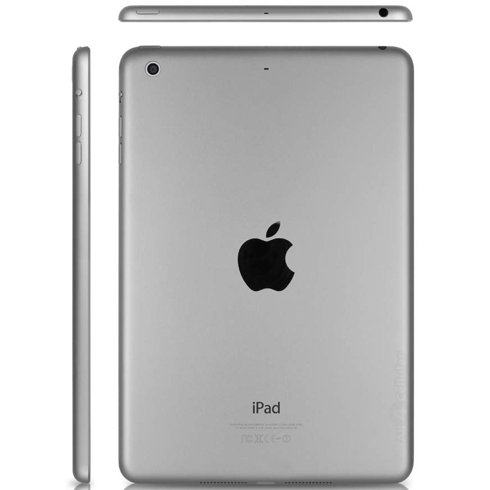 Apple iPad Mini 2 Retina 16GB, Space Gray, Wi-Fi Only/Bundle(3RD LATEST VERSION)