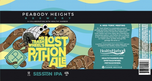 Peabody Heights Mr. Trash Wheel's Lost Python Ale