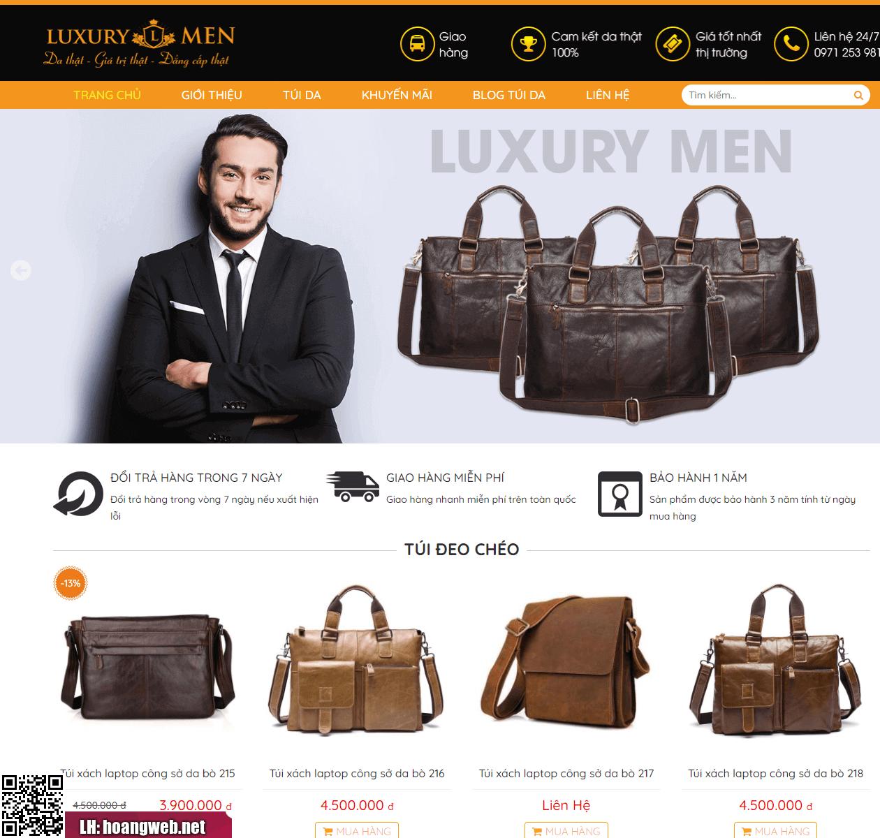 Mẫu thiết kế web giá rẻ 02