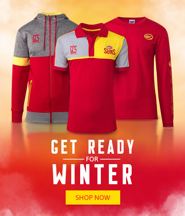 Gold Coast Suns Winter Range