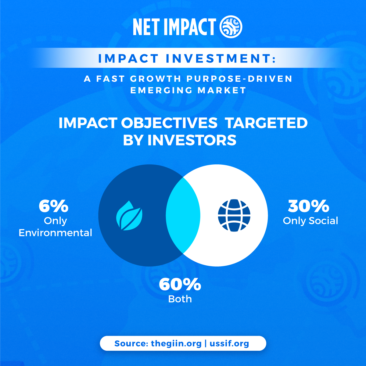 Impact investing: impact objectives targeted by investors | Net Impact