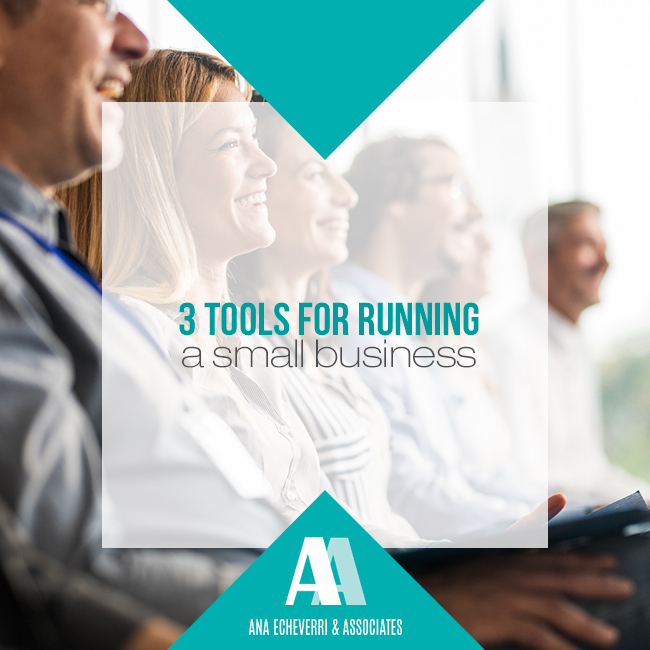 3 tools for running a small business