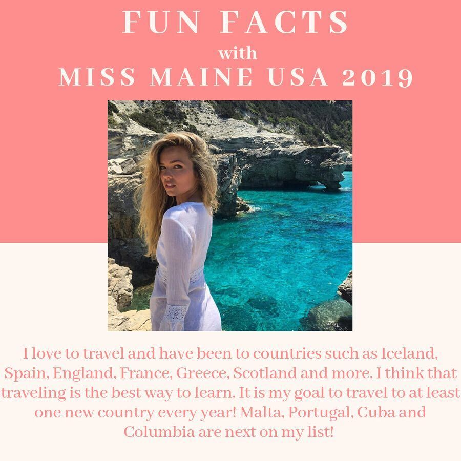 lexie elston, miss maine 2019. 46767685_306953933251124_5668463515236300470_n