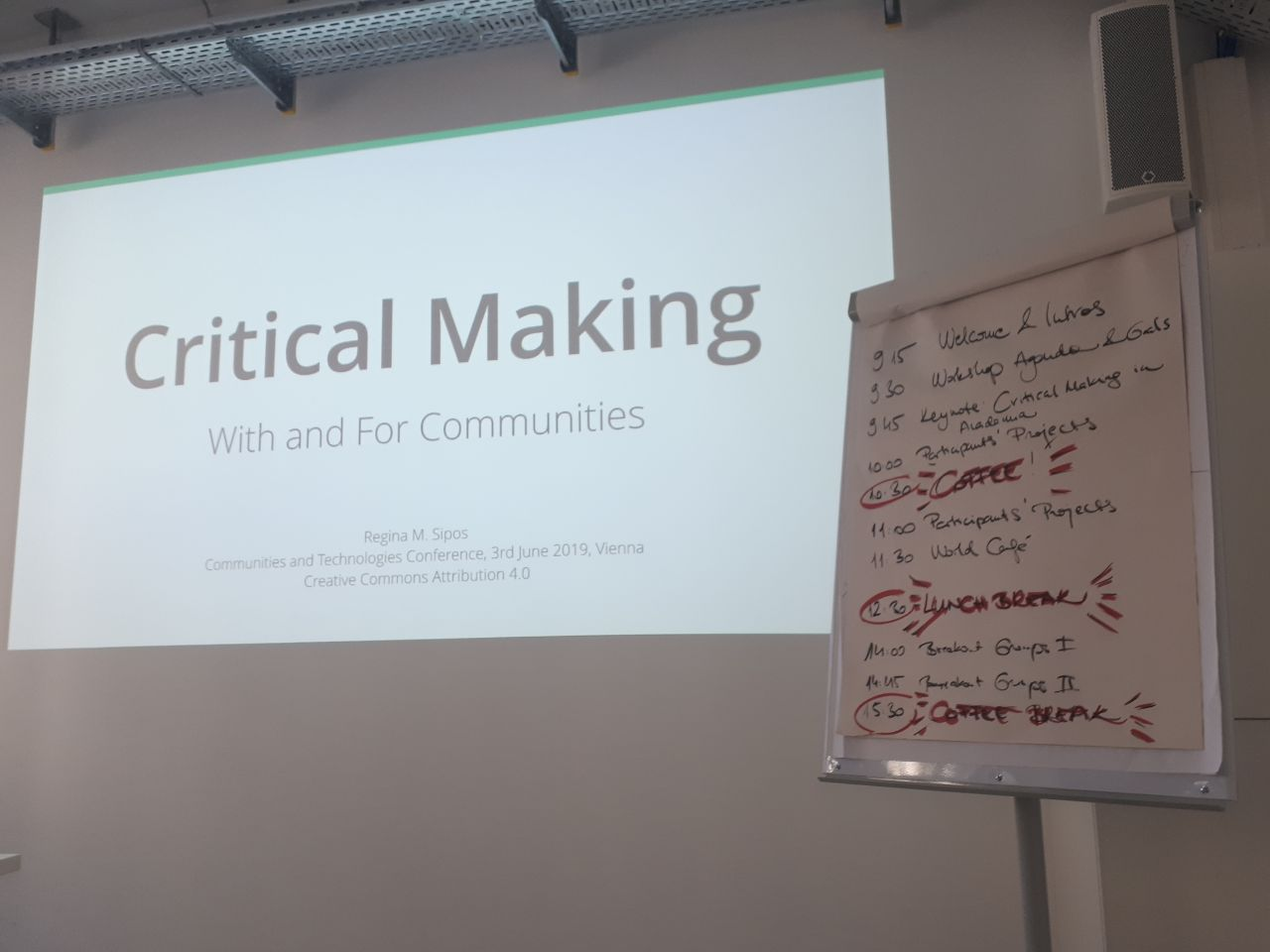 Critical Making with and for communities