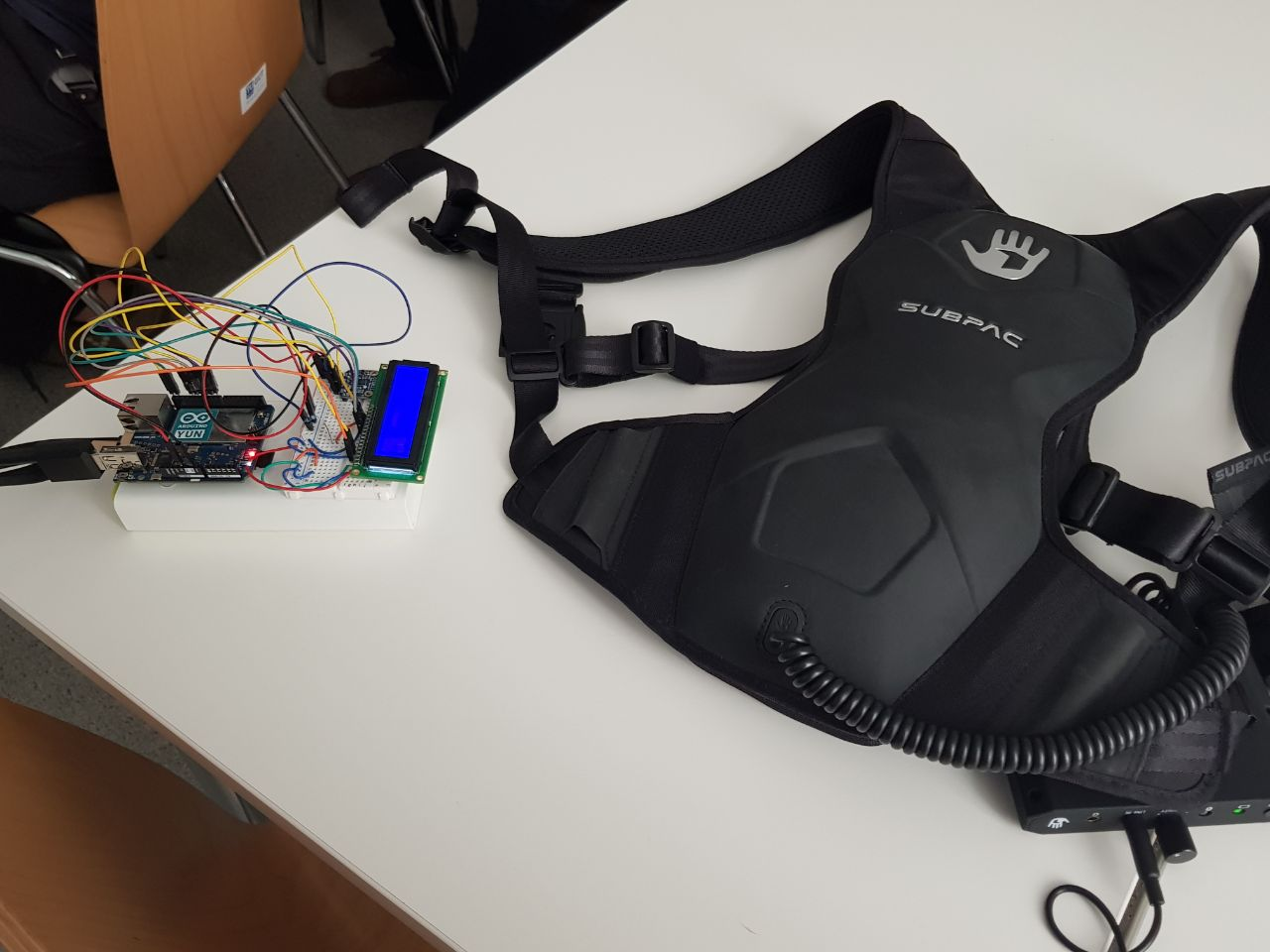 vibroWalk prototype
