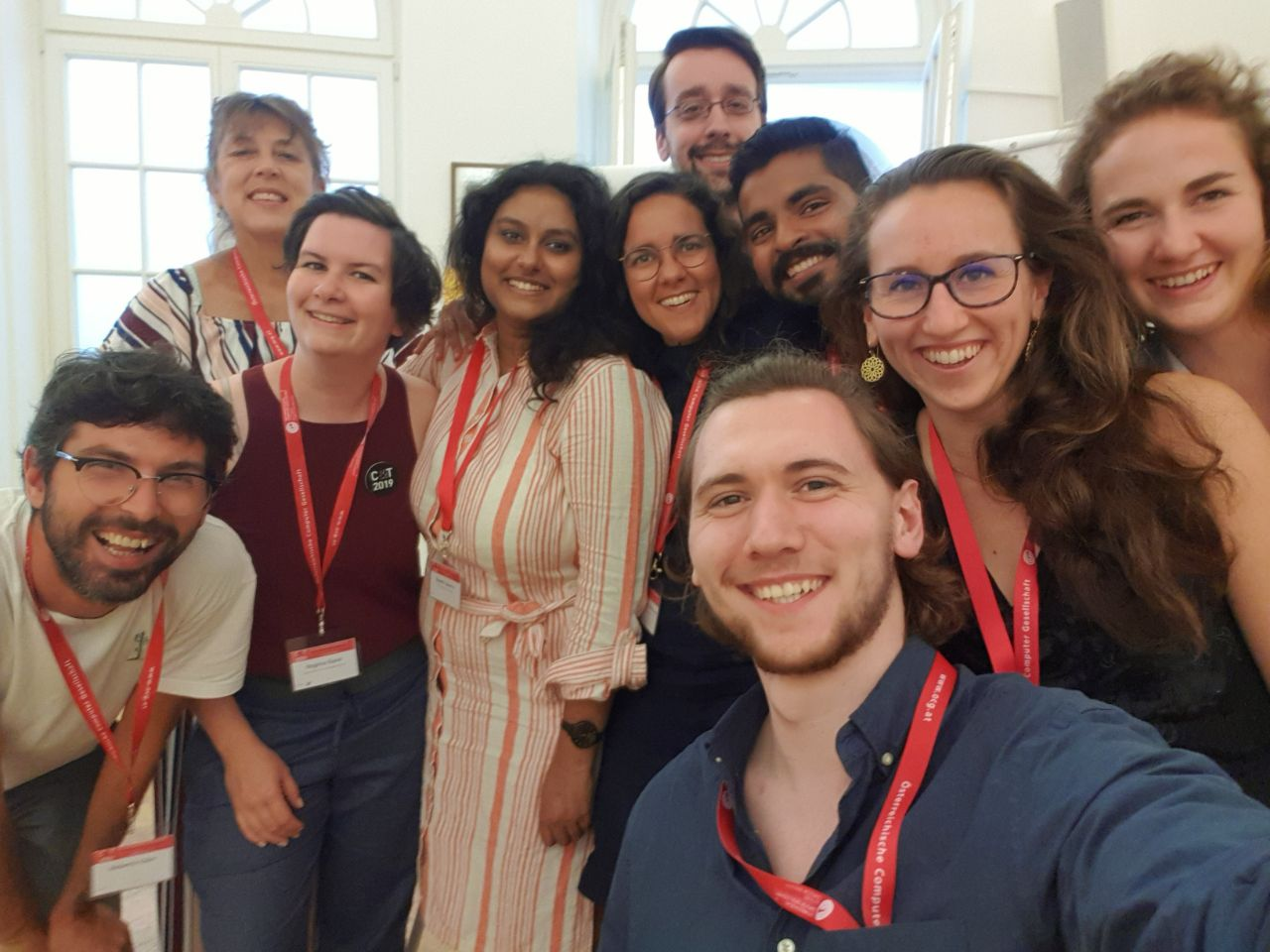 Selfie with all of the workshop participants in Vienna