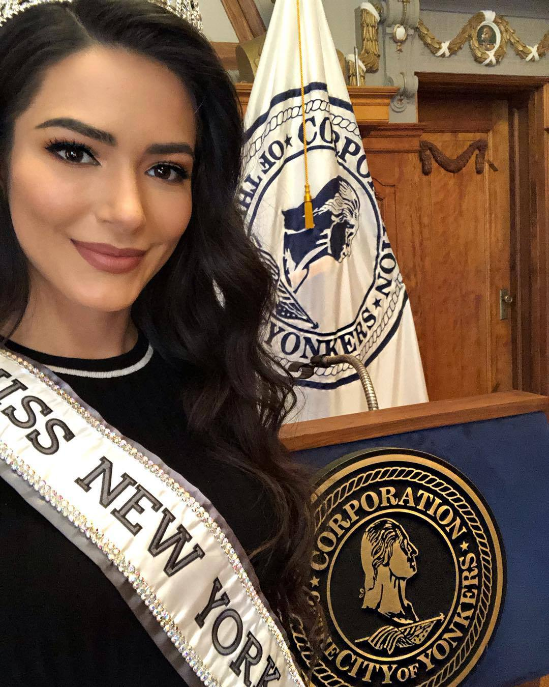florinda kajtazi, miss new york 2019. 51545977_180075536299794_7384650199841847803_n