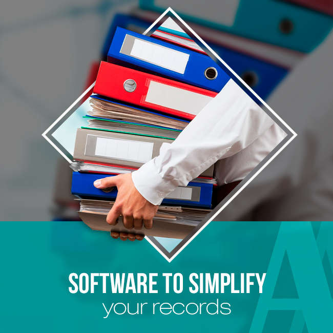 Software to simplify your records