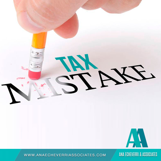 Tax Mistake
