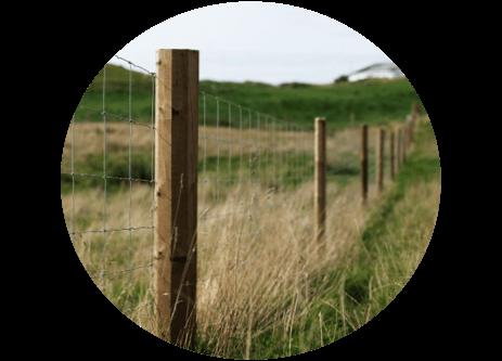 Köp stängsel och stängselstolpar online på granngården.se