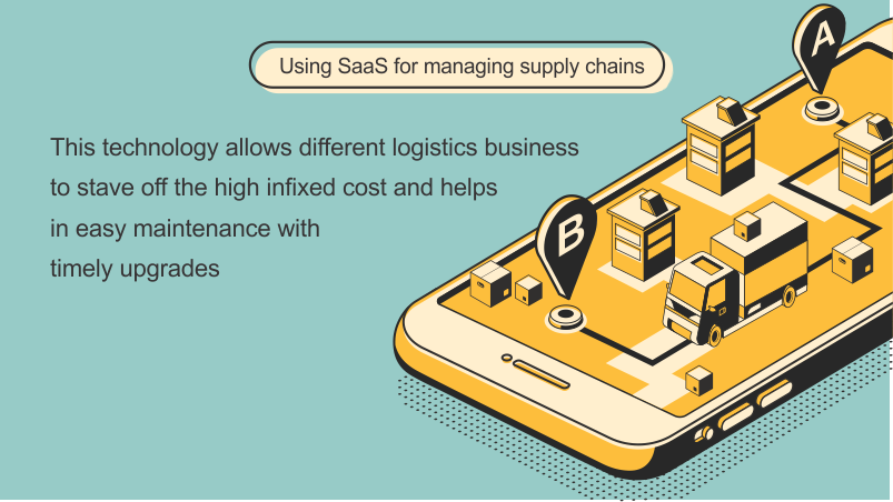 Using sAAs for managing supply chains