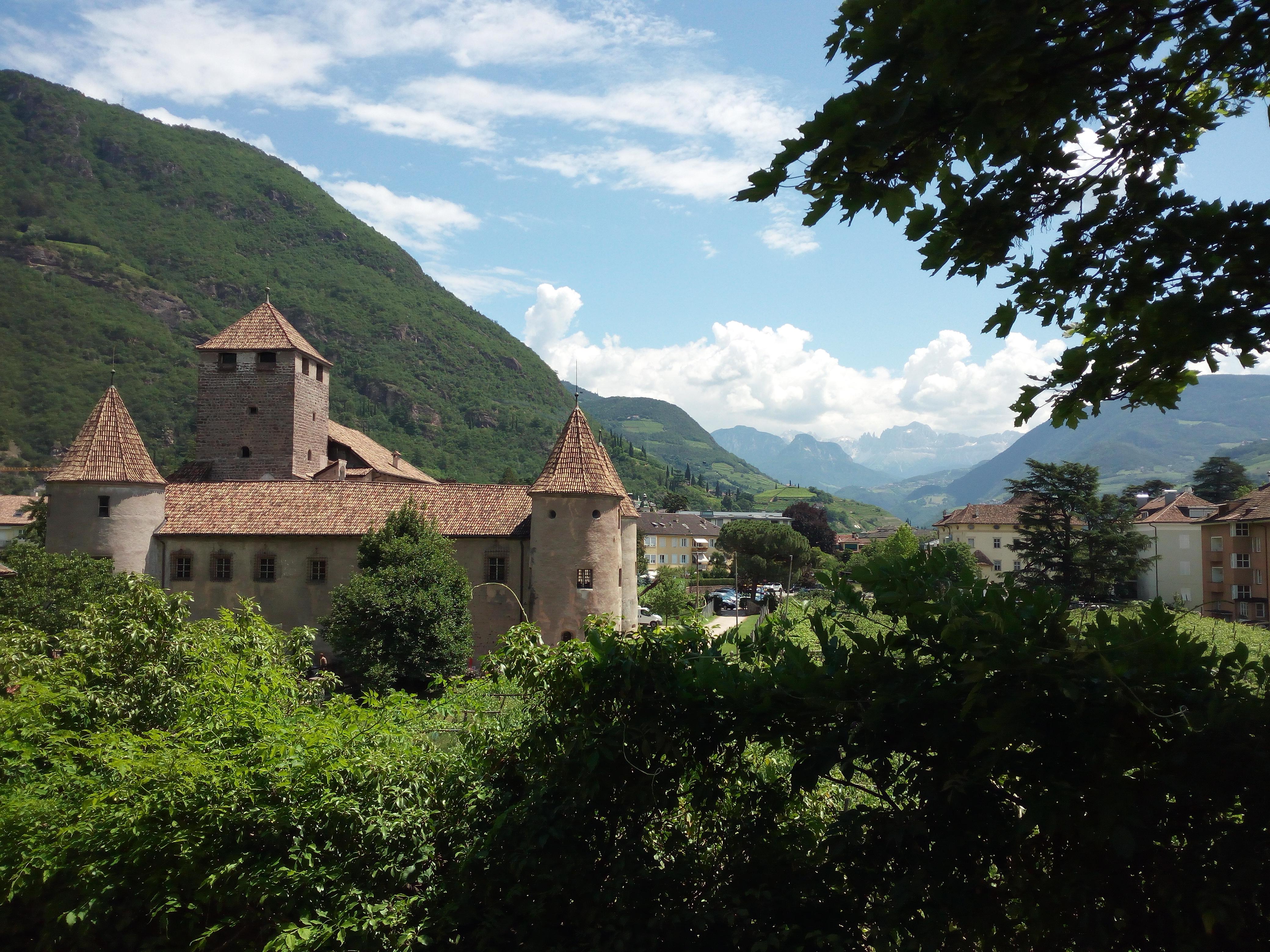 Bolzano seen from above
