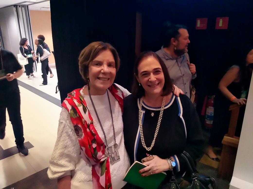 Maria Alice Setubal e Marlova Noleto. Foto: Suzana Camargo.
