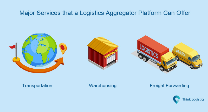 major services that a logistics aggregator can offer