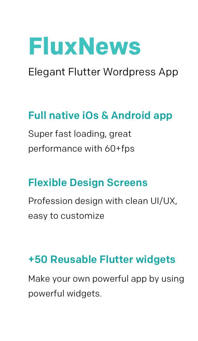 FluxNews - Flutter mobile app for WordPress - 2
