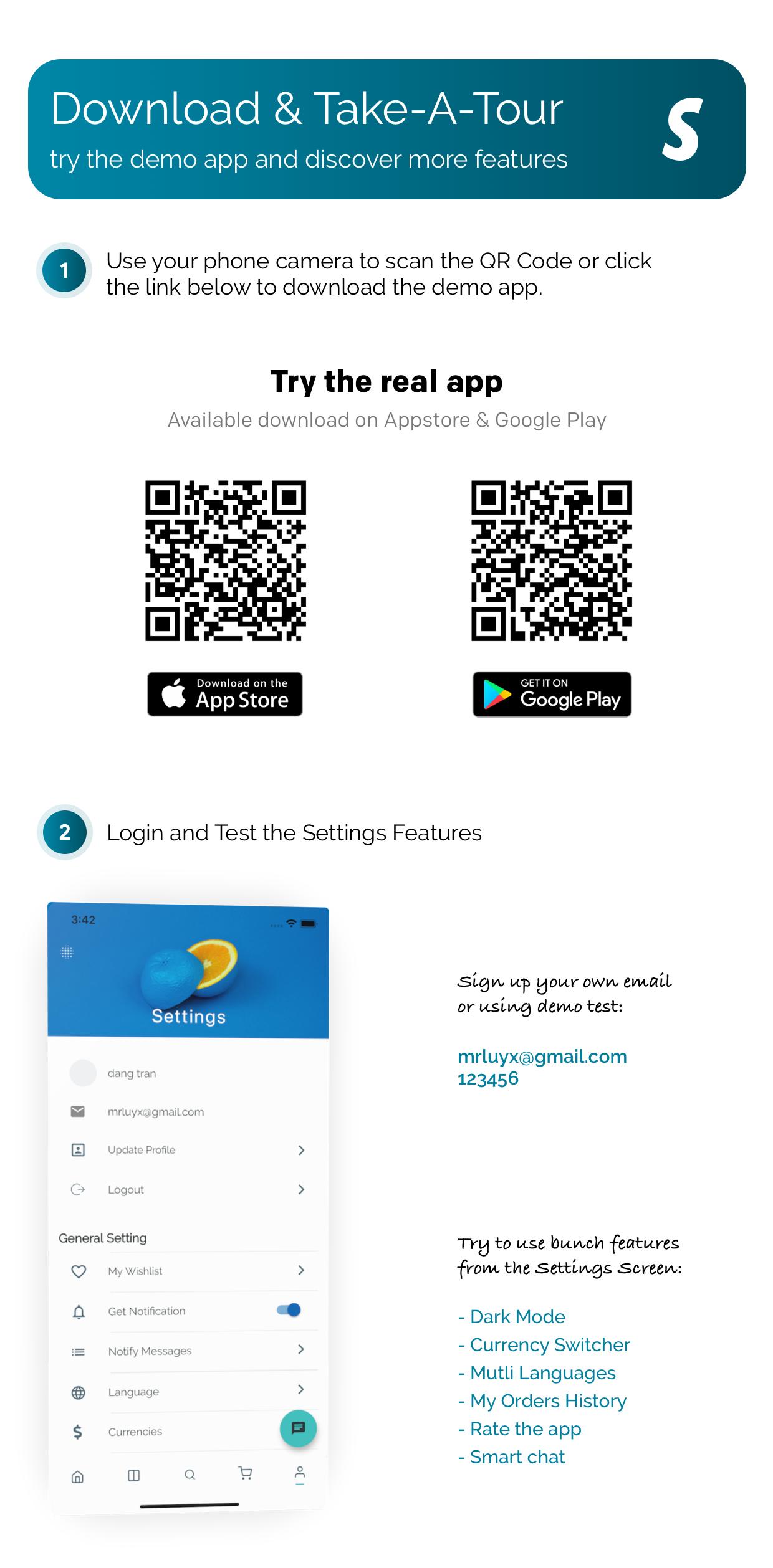 FluxStore Shopify - The Best Flutter E-commerce app - 4