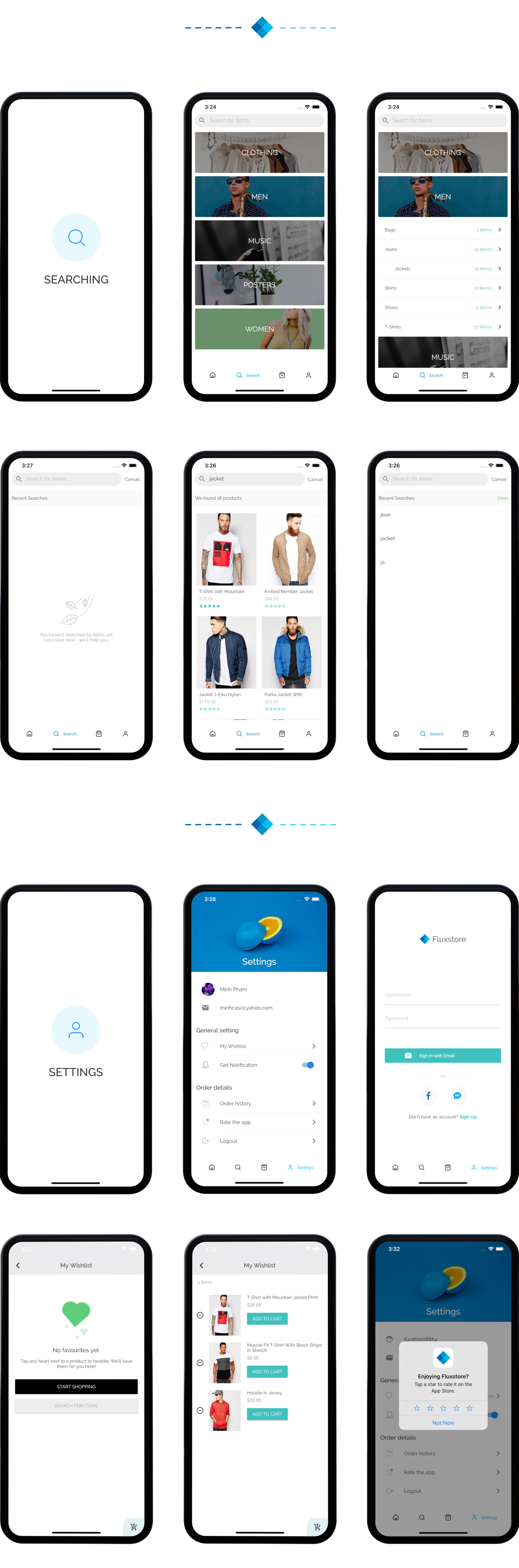Fluxstore Multi Vendor - Flutter E-commerce Full App - 21