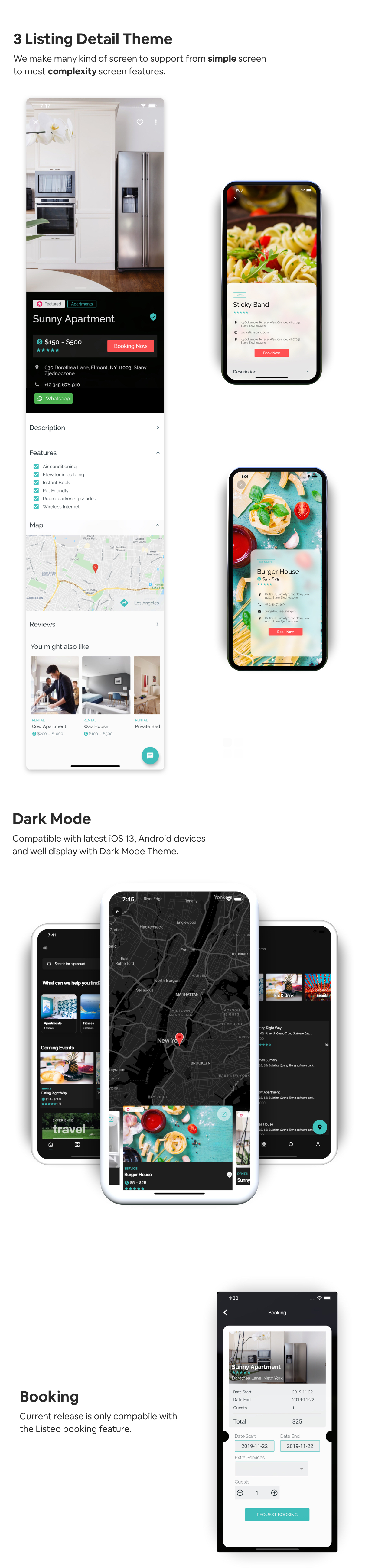 FluxStore Listing - Directory WooCommerce app by Flutter - 4