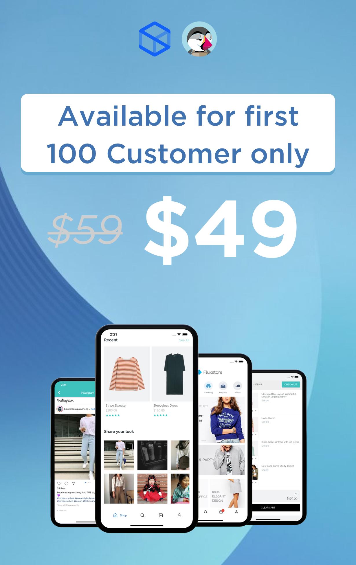 Fluxstore Prestashop - Flutter E-commerce Full App - 2