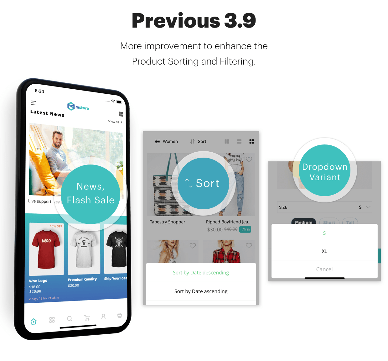 MStore Pro - Complete React Native template for e-commerce - 4