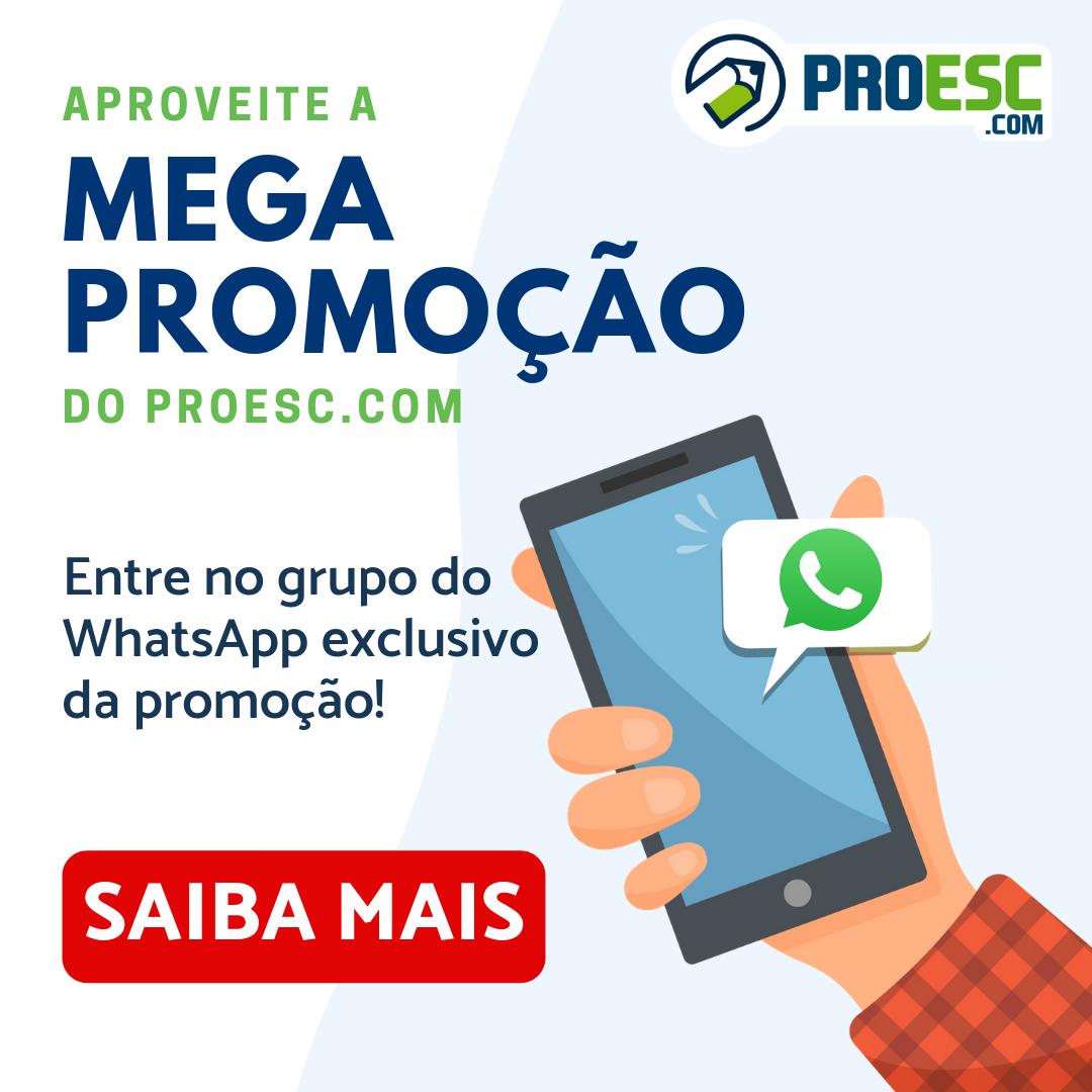 MEGA PROMOÇÃO DO PROESC.COM