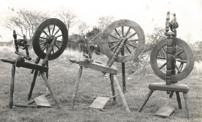 Spinning Wheels by Col. James Innes