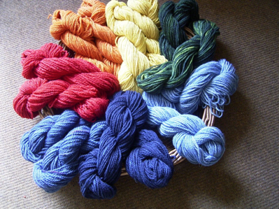The Arran Rainbow Natural Dyed Wool