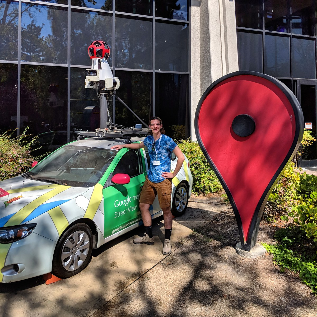 Dresden Kershaw at Google Headquarters in Silicon Valley