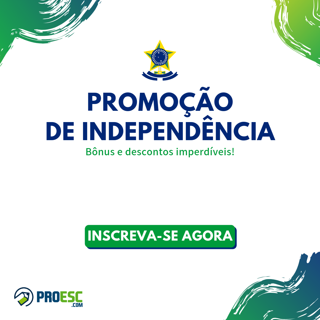 Promoção de independência do Proesc.com